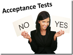 14 Acceptance Tests