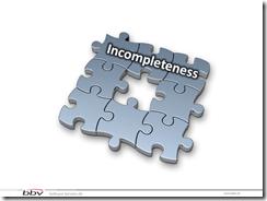 6 incompletness