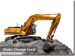 6 Make change local