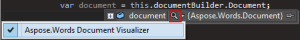04 Start Debugger Visualizer