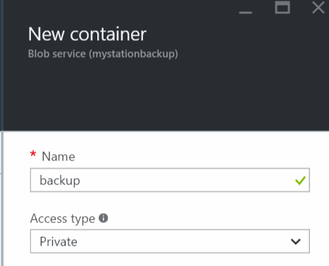 NewContainer
